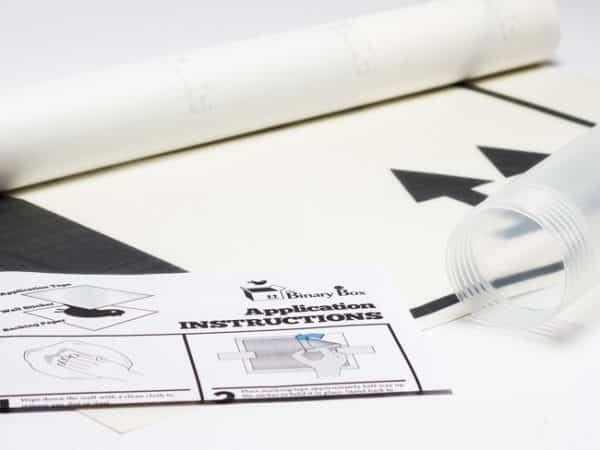 Wall Sticker Packaging