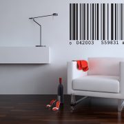 Barcode Wall Stickers-0