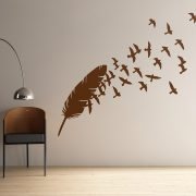 Birds of a Feather Wall Stickers-0