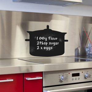Chalkboard Cooking Pot Wall Sticker-0