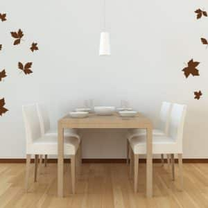 Falling Leaves Wall Stickers-0