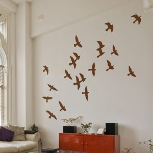 Flock of Birds Wall Stickers-0