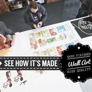 Banksy Panda Wall Stickers-4501