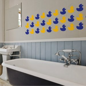 Rubber Duck Tiles Wall Stickers Room Image