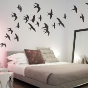 Swallows Wall Stickers Room Image