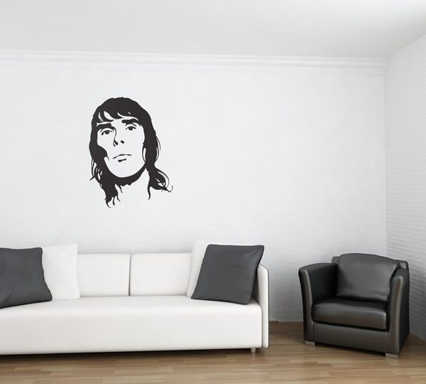 Ian Brown Wall Sticker-0
