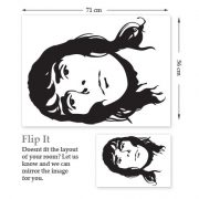 Ian Brown Wall Sticker-514