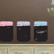 Chalkboard Jam Jars Wall Stickers-0