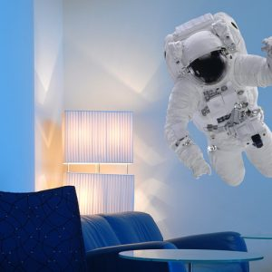 Educational Astronaut Wall Stickers-2459