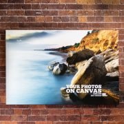 Your Photos on Canvas 1200mm x 900mm - Room Image