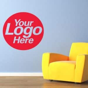 office logo wall vinyl printed