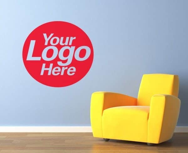 office logo wall vinyl printed