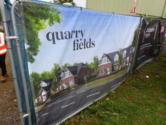 mesh banner for estate agent
