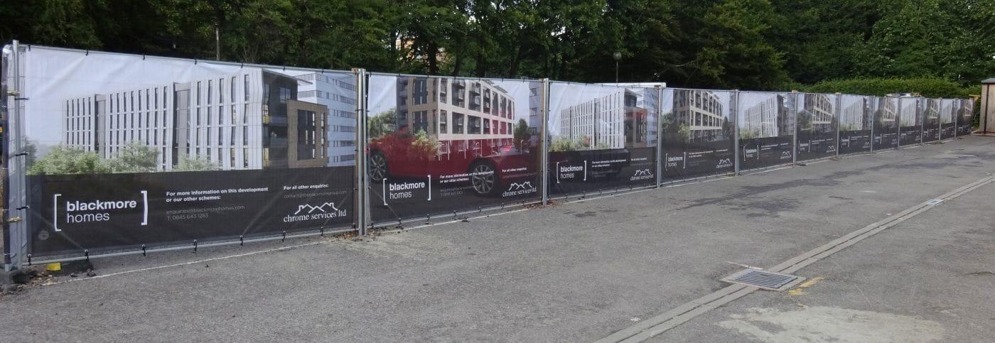 estate agent advertising board