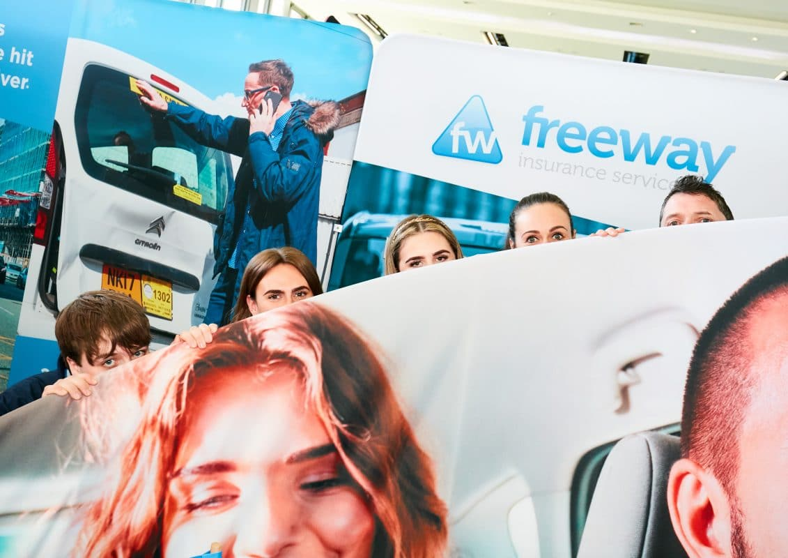 Freeway Exhibition fabric banners and displays