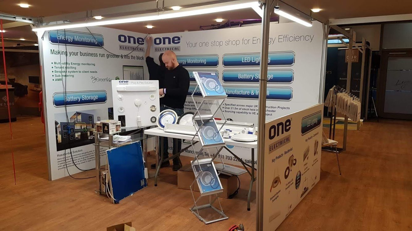 One Electrical Exhibition Stand Build