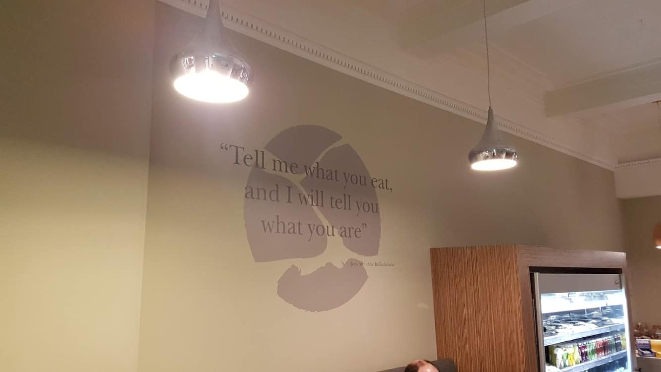 3 Squared Cafe Interior Wall Graphics