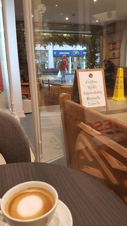 3 Squared Cafe A Frame Sign