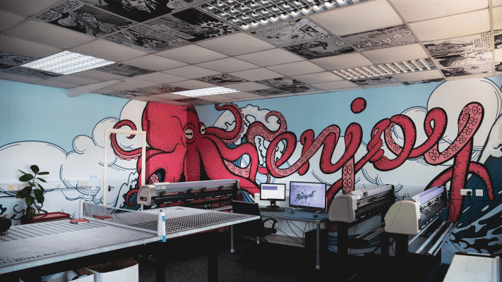 Wall Graphics in Studio