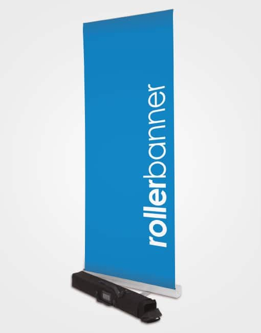 Roller banner dispaly