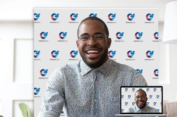 Video Backdrop Banner Logo Branding